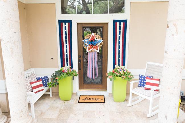 DIY Let Freedom Ring Wreath
