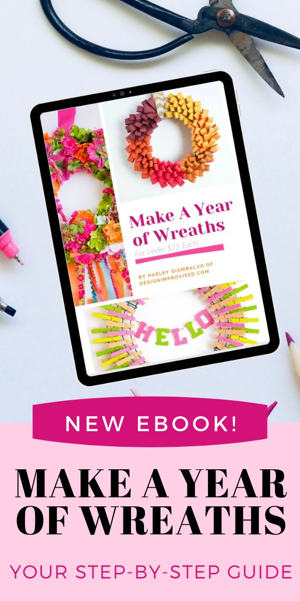 Make a Year of DIY Wreaths Ebook