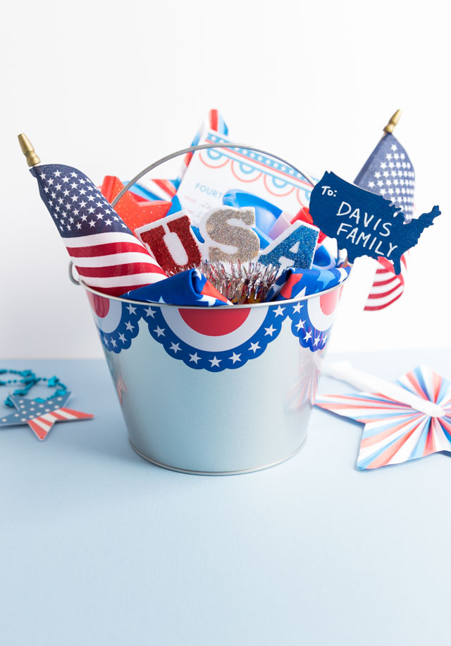 4th of July Parade Surprise Bucket