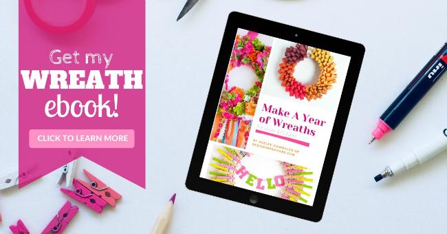 DIY Wreath Making Ebook Guide