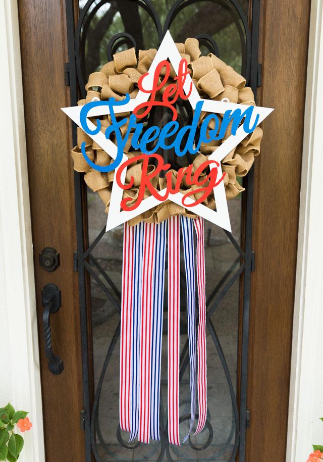 Let Freedom Ring DIY Wreath