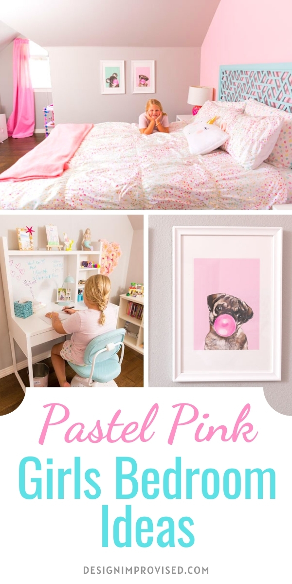 Pastel Pink Girls Bedroom Ideas