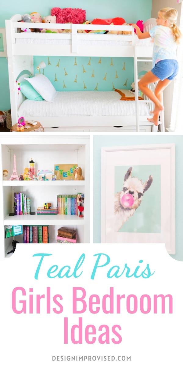 Paris Themed Girls Bedroom Decor