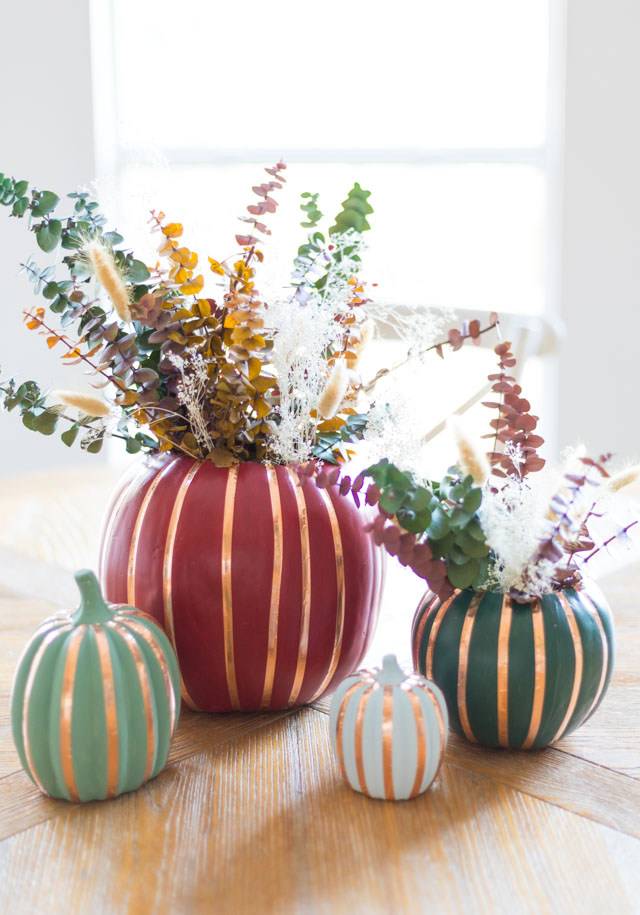 How to Make a Faux Pumpkin Vase