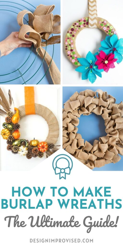 How to make burlap wreaths: A beginner's guide