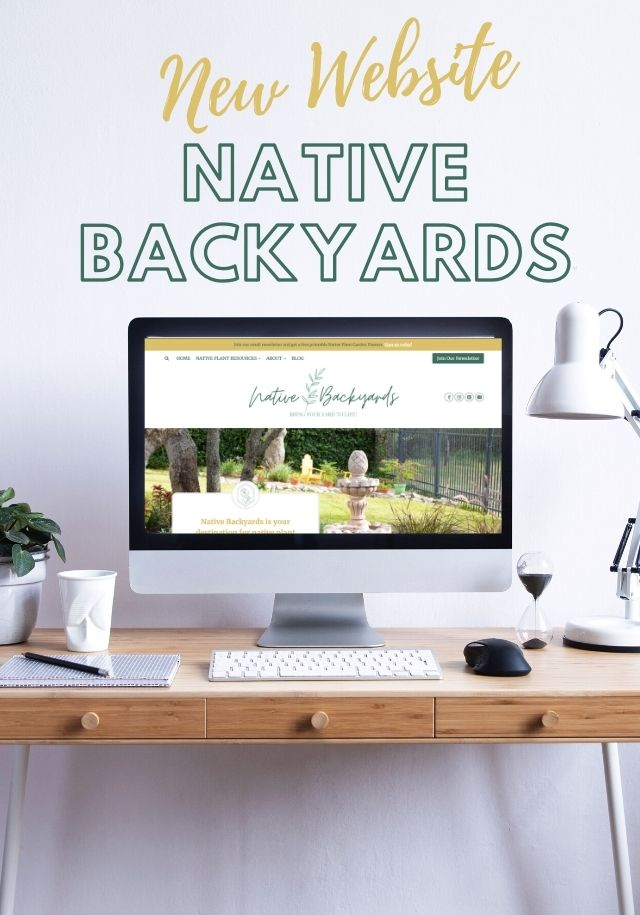 Introducing My New Site: Native Backyards!