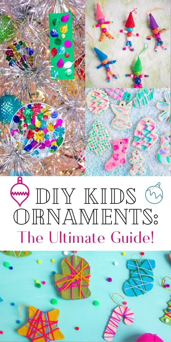 Guía definitiva para hacer adornos navideños para niños
