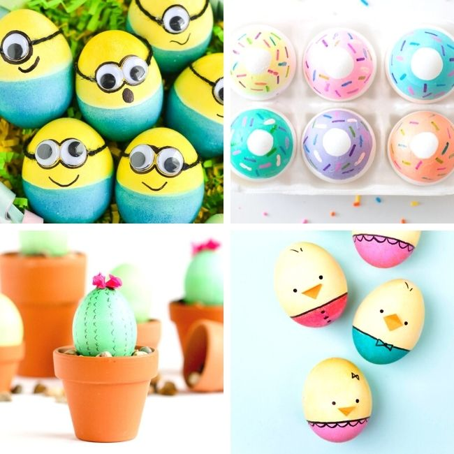Cute and funny Easter egg ideas
