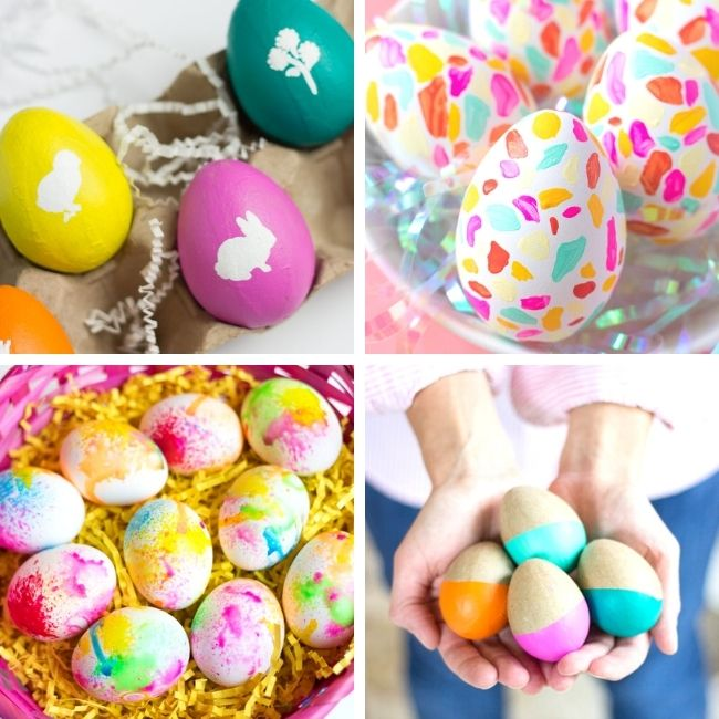 Painted Easter egg design ideas