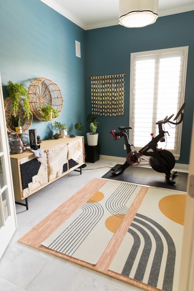 Peloton workout room ideas