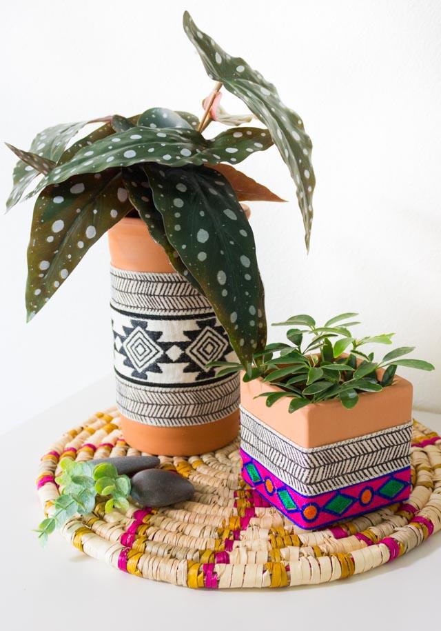 DIY Boho Vases